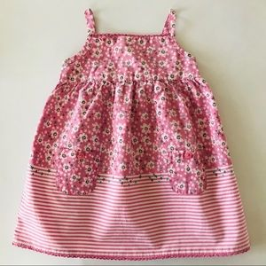 Old Navy Pink Floral Sun Dress Baby Girl